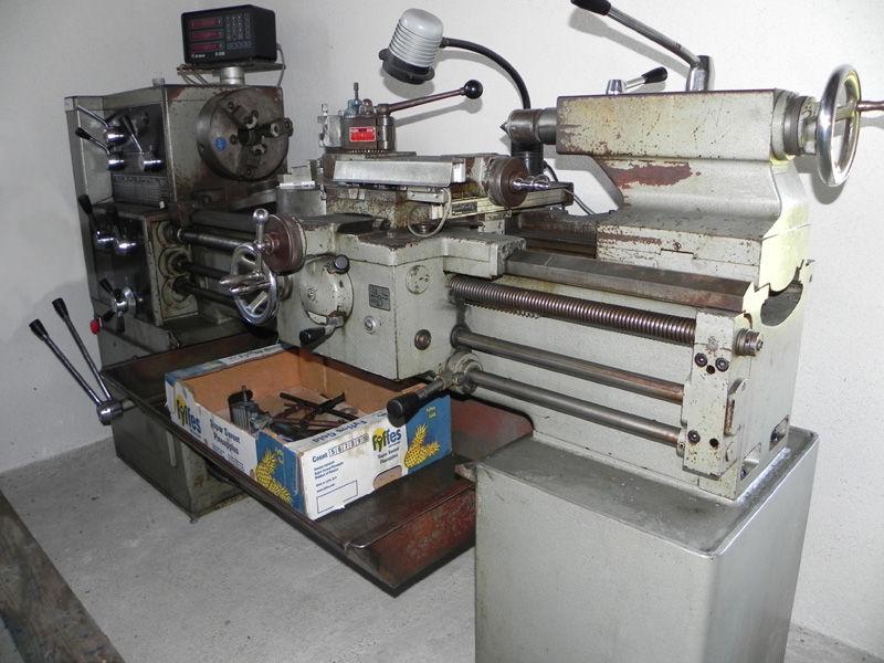 Gebrauchte drehmaschine kaufen metallteile verbinden for Deckel drehmaschine